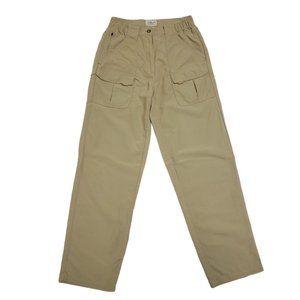 L.L. Bean Women's Hiking Cargo Pants Zip Pockets